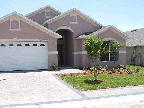 Location of our vacation villa on Florida Pines in Davenport